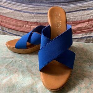 Italian shoemaker Wedges